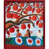 Alberoi Bazile, Caribbean School painting