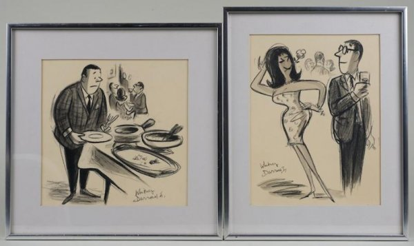 744: (2) original illustrations by Whitney Darrow Jr.