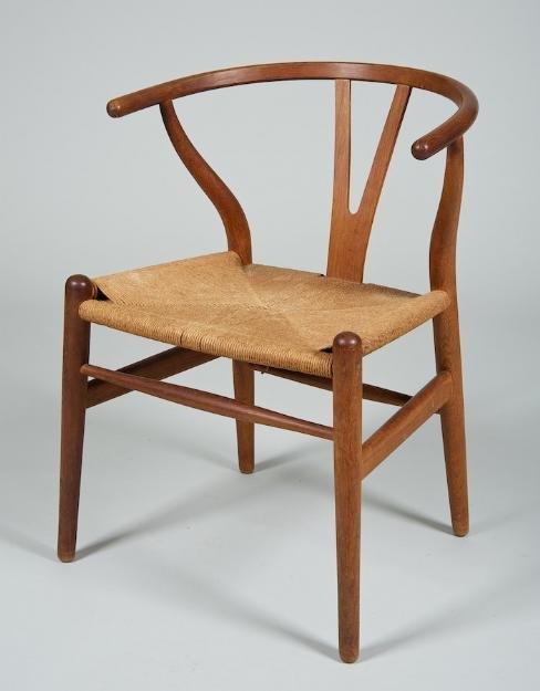 998: Hans Wegner for Carl Hansen wishbone armchair