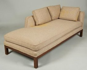 Modernist Chaise Longue Manner Of Edward Wormley