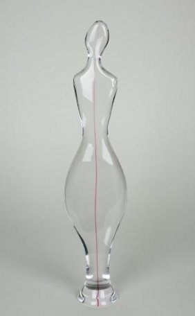 Cenedese Murano Glass Figure By Gino Fort