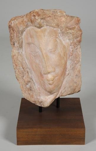 1184: Marble sculpture manner of William Zorach (1887-1