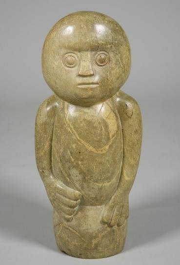 1191: Stone sculpture by Edward Chiwawa (b. 1935, Zimba