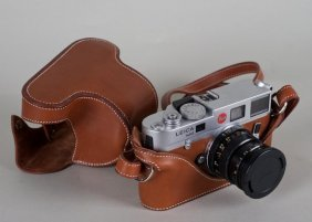 Leica M6 Camera In Hermes Leather Case