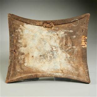 Yoruba Opon Ifa divination board, ex-museum