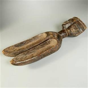 Dan Peoples, large double spoon, ex-museum