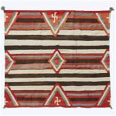 Large Navajo Third Phase chief's blanket