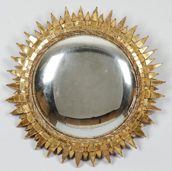 2381: Talosel mirror by Line Vautrin (1913-1997, French