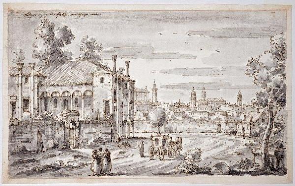 3021: Attr. to Johan Richter (1665-1745, Swedish), draw