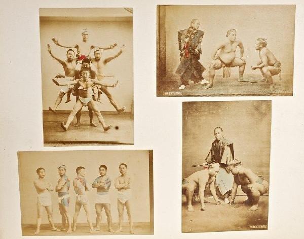 1003: Antique Japanese photo album