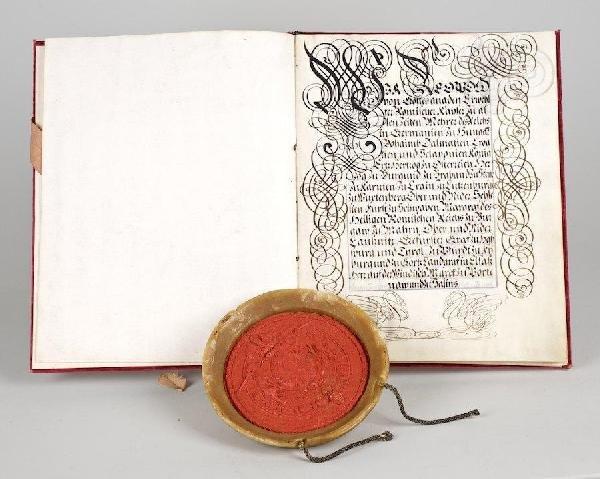 1004: Leopold I, Holy Roman Emperor, Legal Document, Ju