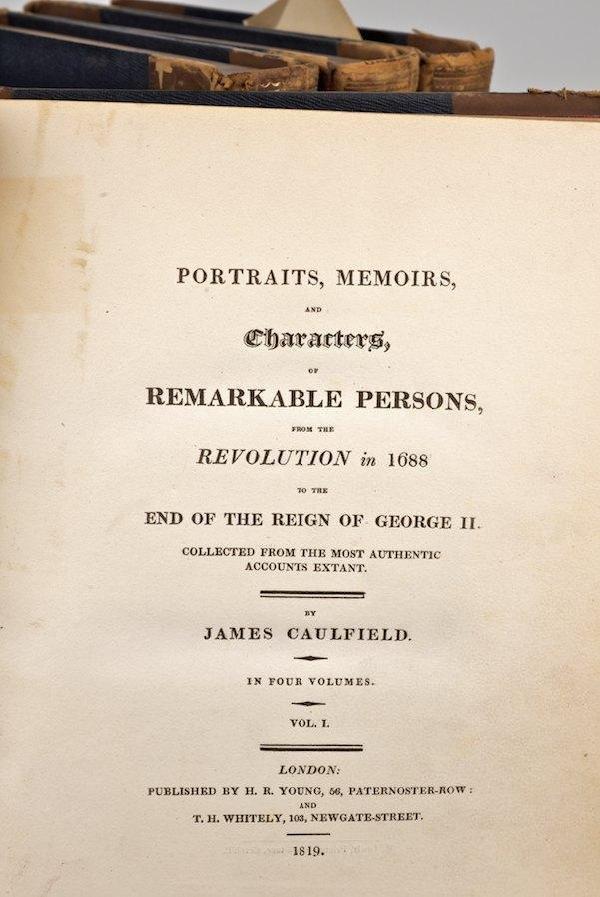 1006: Caulfield, James, Portraits, Memories, and Charac