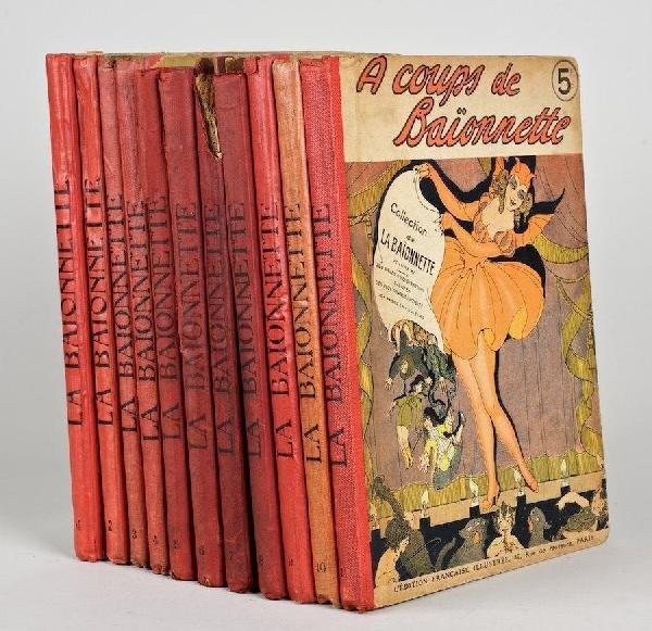 1008: La Baionette: 11 vols.