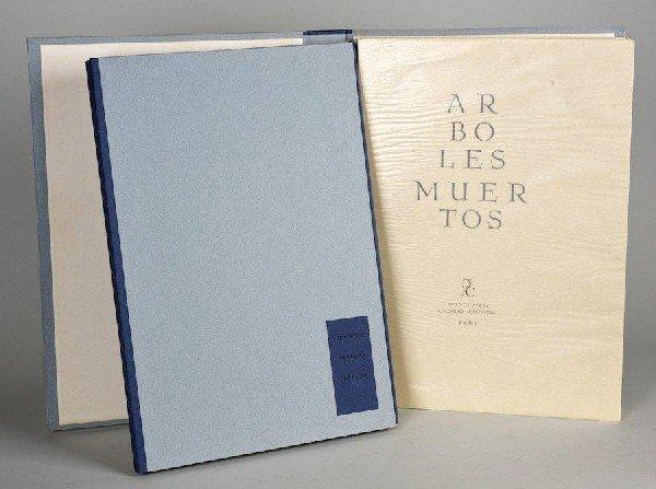 1012: Molinari, Ricardo, Aboles Muertos, Aquatints by R