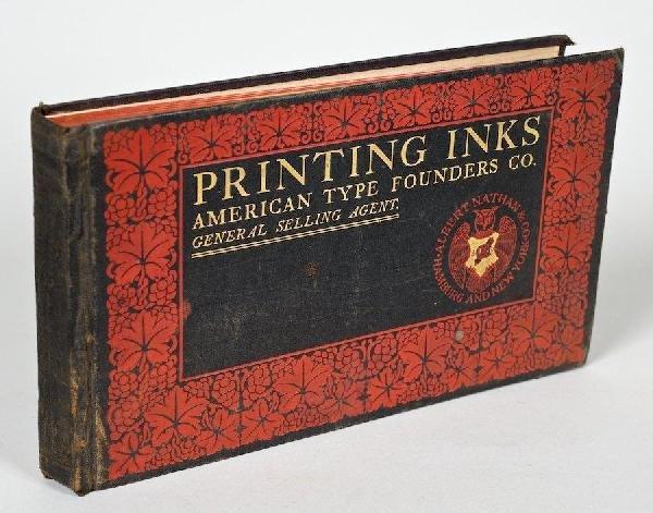 1020: American Type Founders Co., Printing Inks