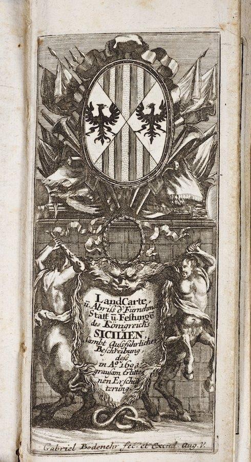 1022: Land Carte Das Konigsreichs Sicilen