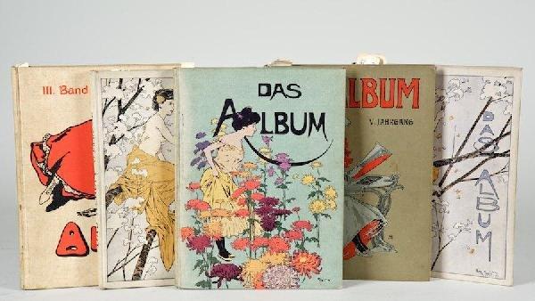 1073: Das Album, vols. 3-6 with dupe of vol. 6