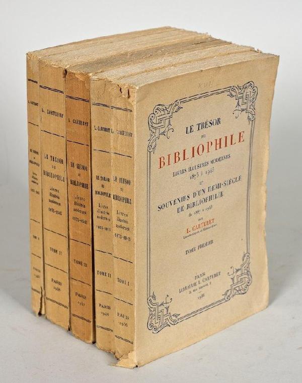 1079: Carteret, L. Le Tresor Du Bibliophile