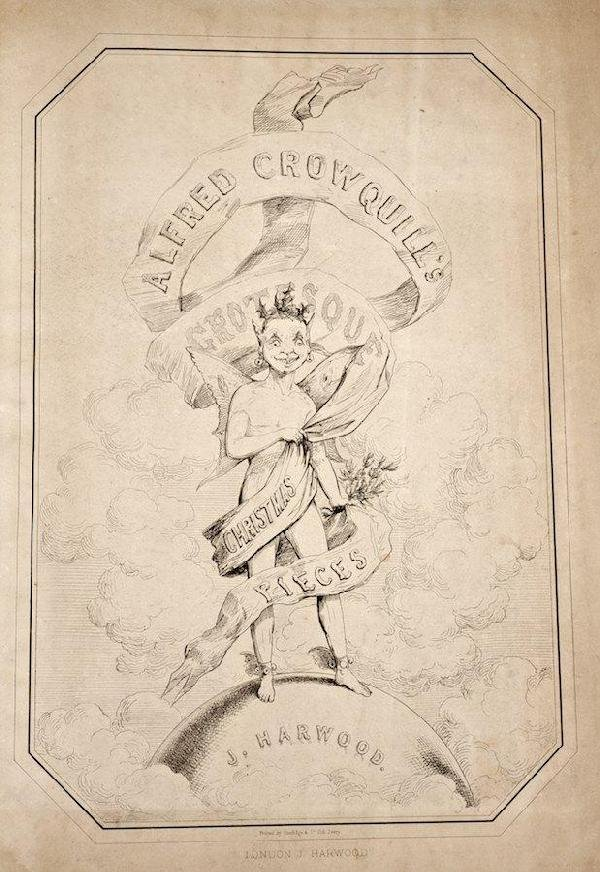 1088: Crowquill, Alfred, Grotesque Christmas Pieces