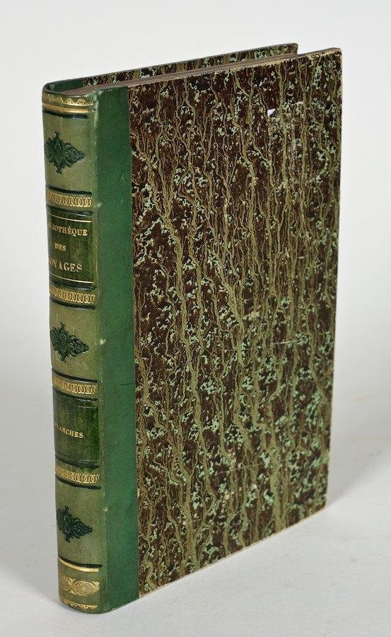 1092: Bibliotheque des Voyages (spine title)