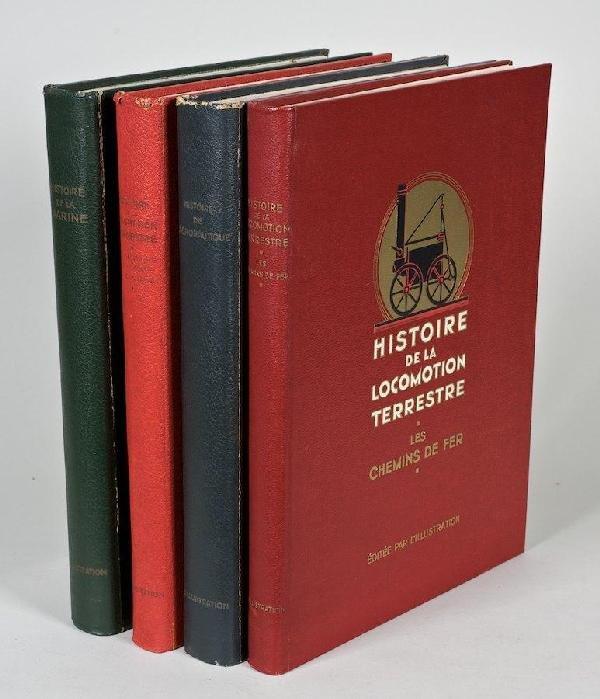 1093: Histoire de la Locomotion Terrestre, 2 vols.