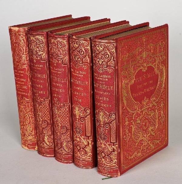 1095: Lacroix, Paul, 5 vols.