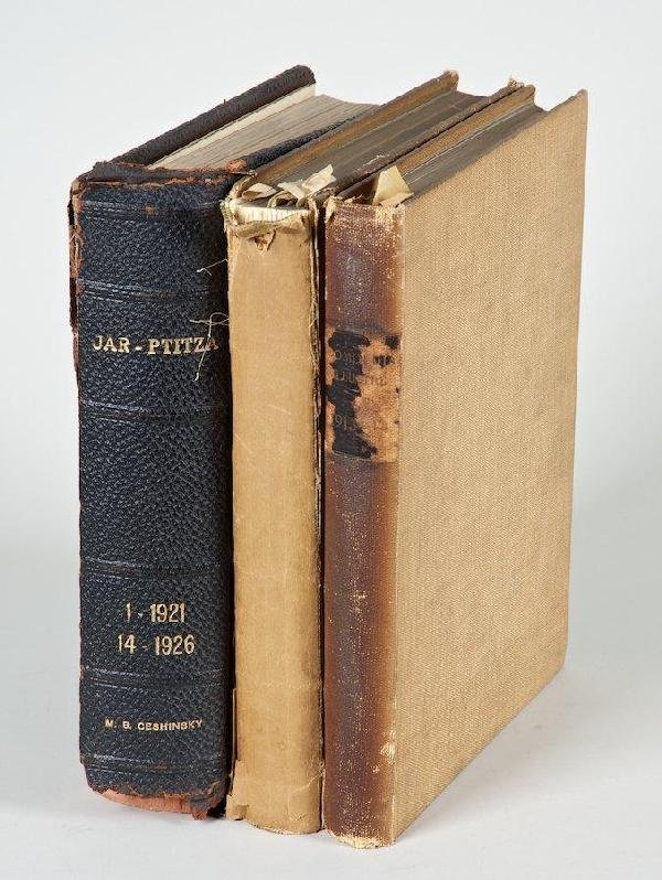 1169: European Magazines, 3 vols.