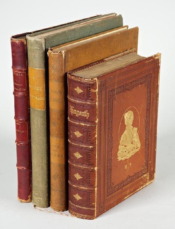 1172: Art Books incl. Hogarth
