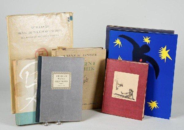 1177: Art Books incl. Lautrec