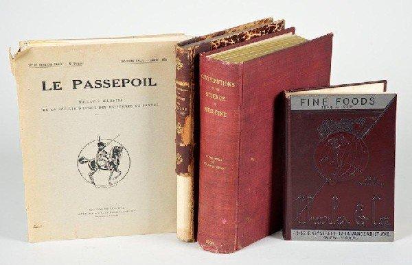 1183: Science, etc., 4 vols.