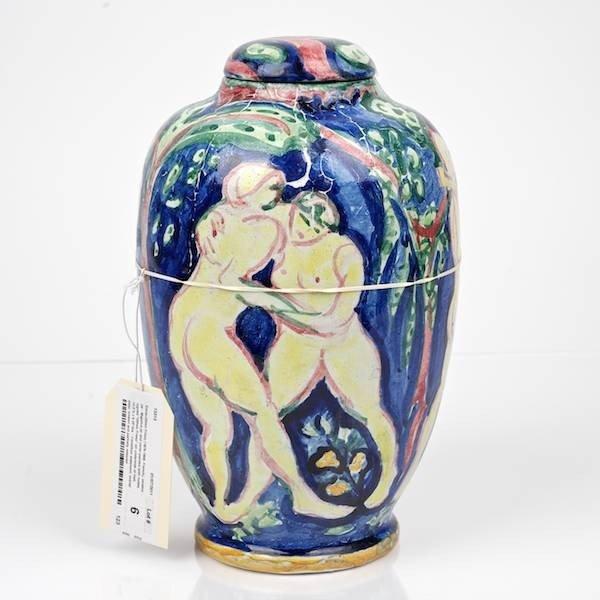6: Emile-Othon Friesz (1879-1949, French), ceramic jar