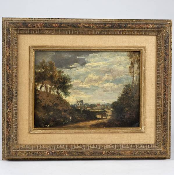 2007: Manner of J.F. Cropsey (19th century), painting
