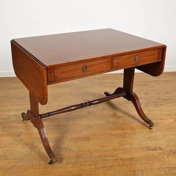 Regency style sofa table by Schmieg & Kotzian, Ne
