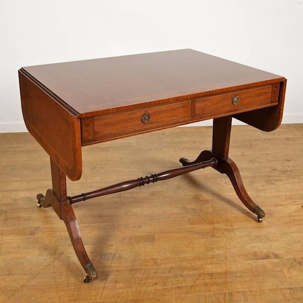 2008: Regency style sofa table by Schmieg & Kotzian, Ne