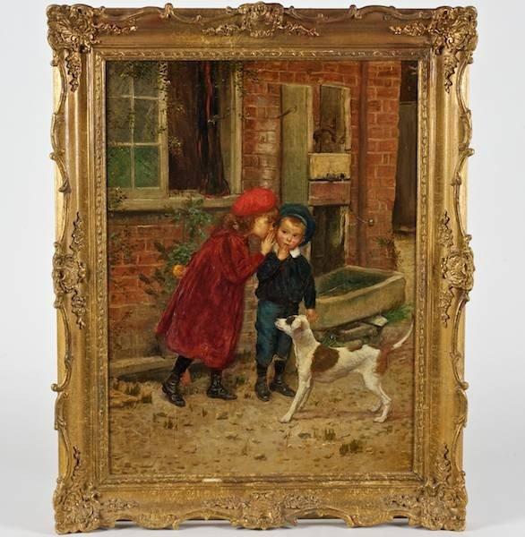 2011: Ernest Klempner (1867-1962, American), painting
