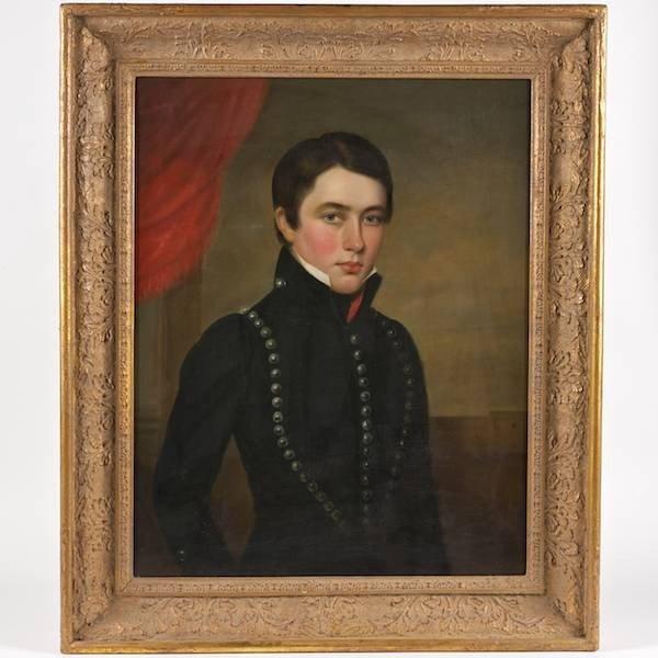 2016: American School (19th Century), painting