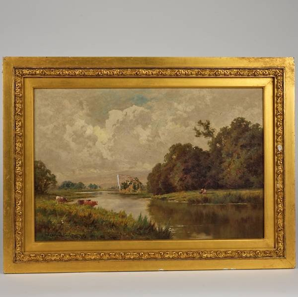 2020: Henry Hillier Parker (1858-1930, British), painti