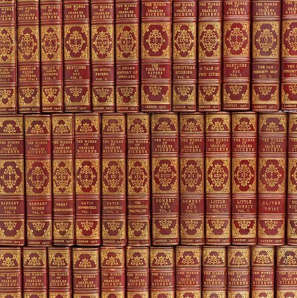 2073: Books: The Works of Charles Dickens. Chapman & Ha