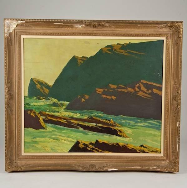 2085: Frederick Judd Waugh (1861-1940, American), paint