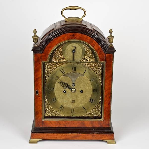 2086: George III repeating bracket clock by Robert Wood