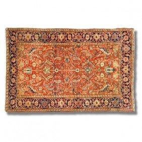 """Heriz Carpet, Approx. 5'11"""" X 8'3"""""""