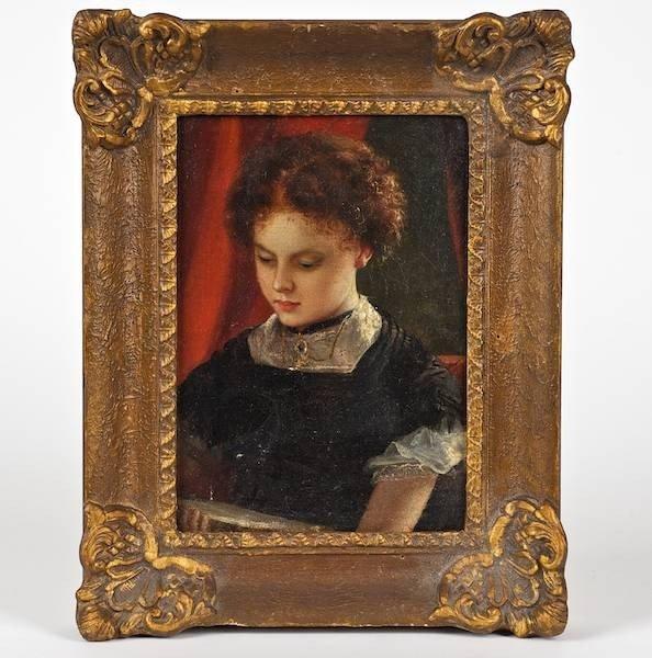 2146: American School (19th century), painting