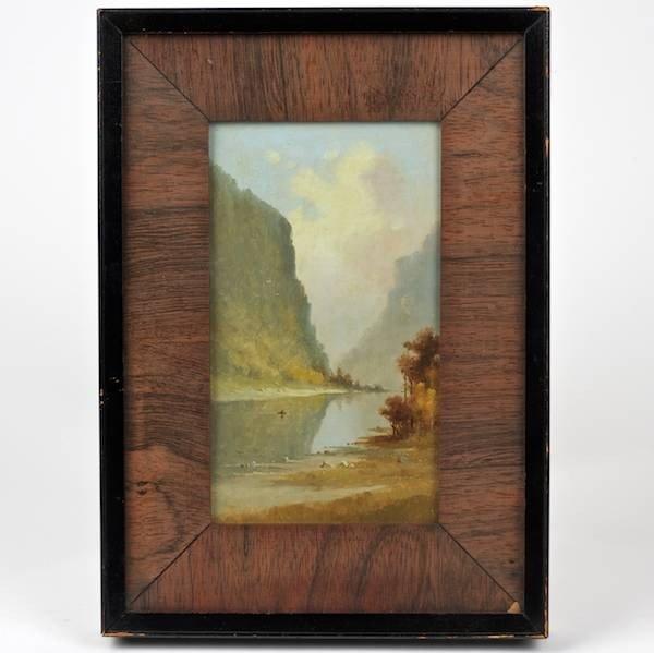 2149: Hudson Valley School (19th/20th c.), painting