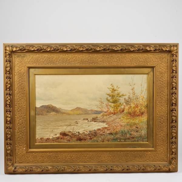 2152: James Craig Nicoll (1846-1918, American), paintin