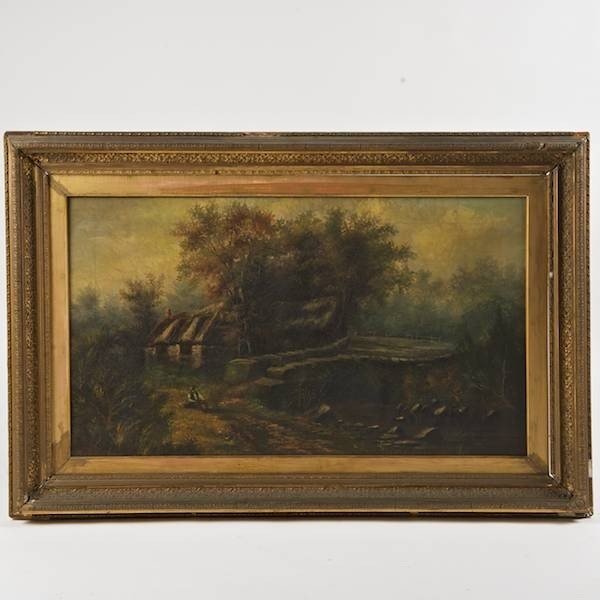 2162: Manner of John Constable (1776-1837, British), pa