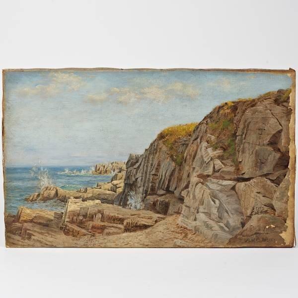 2166: Albert Babb Insley (1842-1937, American), paintin