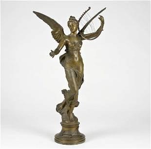 2269: Eugene Marioton (1854-1933, French), bronze