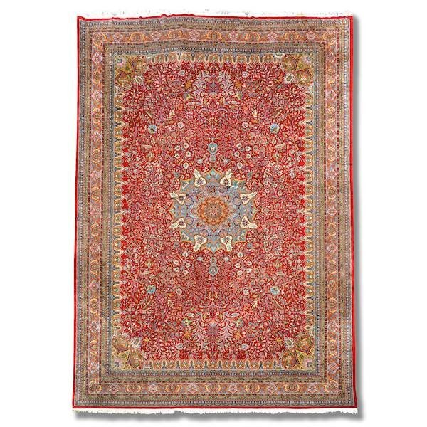 3007: Kirman carpet, approx. 17' x 23'6""