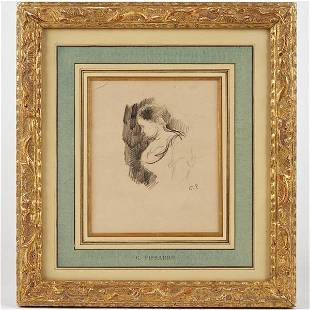 Attr. to Camille Pissarro (1830-1903, French), dr