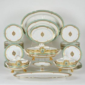 The Rumsey Dinner Service By Ch. Pillivuyt, Paris